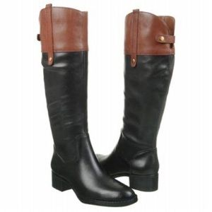 Franco Sarto | Clove 2 Leather Heeled Riding Boots